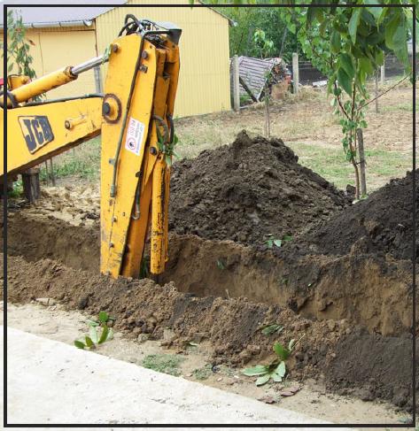 Talajkollektor kiépítésének folyamata
